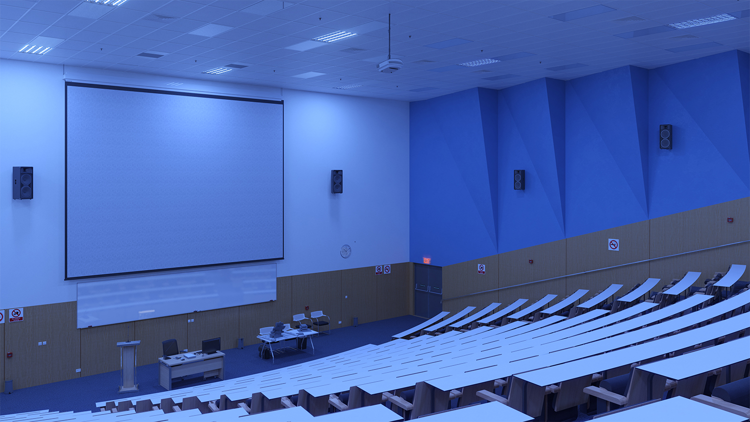 UVC for universities lecture halls