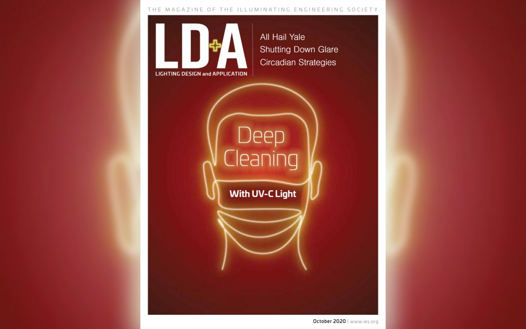 LD+A Magazine Feature: Deep Cleaning with UVC Light