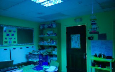 Creative Learning Center Whole-Room UVC Disinfection